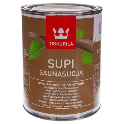 Лак для сауны акриловый Tikkurila Supi Saunasuoja 0.9 л