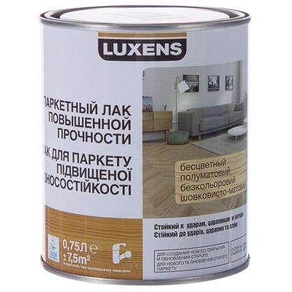 Лак паркетный водный Luxens полуматовый 0.75 л