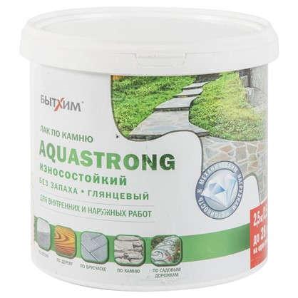 Лак по камню Aquastrong высокопрочный 2.5 кг