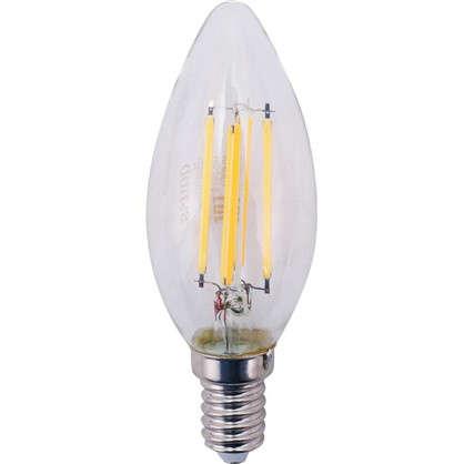 Лампа Filament Свеча E14 11W 720lm 2700К