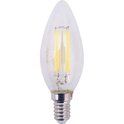 Лампа Filament Свеча E14 11W 750lm 4100К