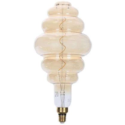 Лампа филаментная Vintage E27 6 Вт золотая колба