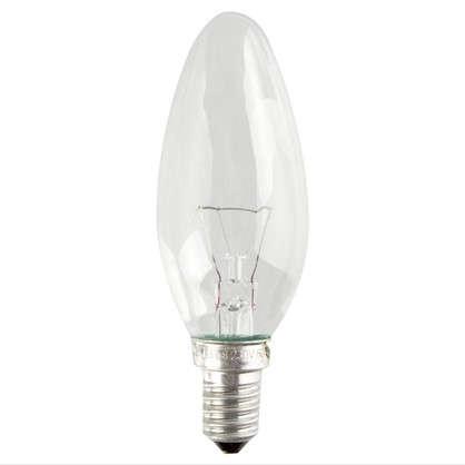 Лампа накаливания Osram свеча E14 40 Вт свет теплый белый