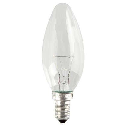 Лампа накаливания Osram свеча E14 60 Вт свет теплый белый