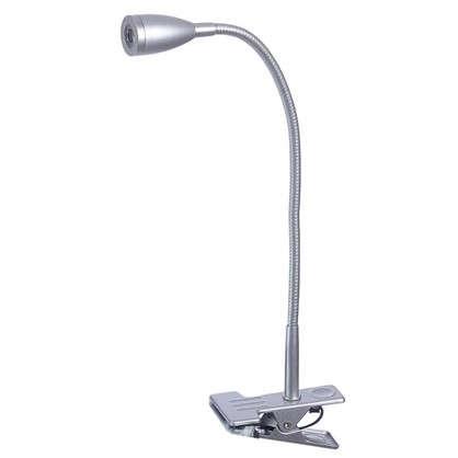 Лампа настольная светодиодная Gao 1х3 Вт 130 Лм цвет серебро