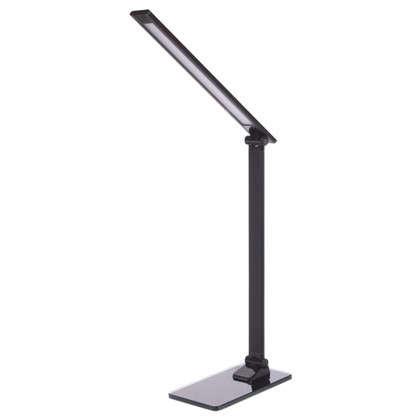 Лампа настольная светодиодная Gloss 7 Вт цвет черный