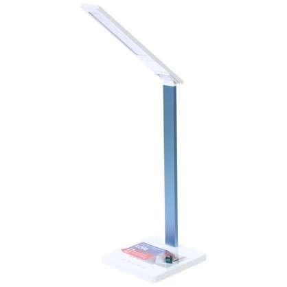 Лампа настольная светодиодная Lori цвет бело-голубой