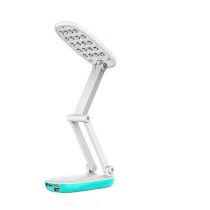 Лампа настольная светодиодная Старт СТ82 цвет голубой