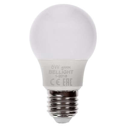 Светодиодная лампа Bellight A55 E27 5 Вт 400 Лм свет холодный белый