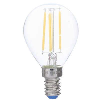 Светодиодная лампа филаментная Airdim форма шар E14 5 Вт 500 Лм свет холодный