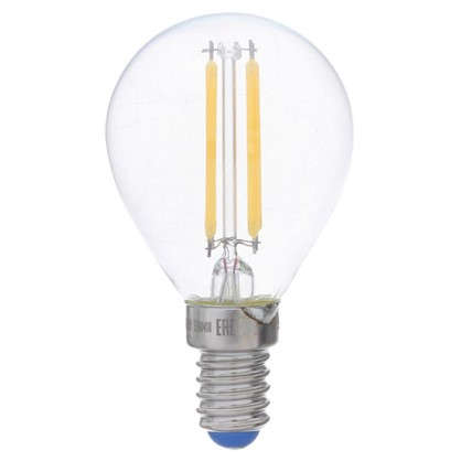 Светодиодная лампа филаментная Airdim форма шар E14 5 Вт 500 Лм свет теплый