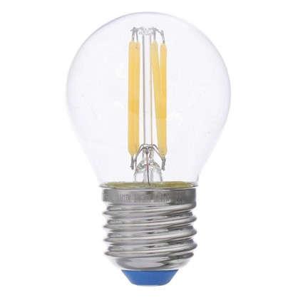 Светодиодная лампа филаментная Airdim форма шар E27 5 Вт 500 Лм свет холодный
