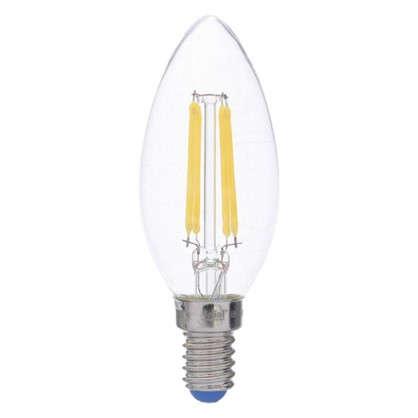 Светодиодная лампа филаментная Airdim форма свеча E14 5 Вт 500 Лм свет холодный
