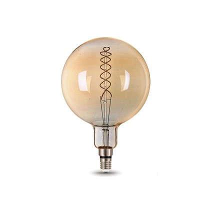 Лампа светодиодная Gauss Е27 8 Вт шар спираль свет теплый