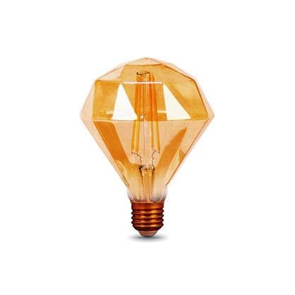 Лампа светодиодная Gauss Filament Diamond E27 5 Вт 450 Лм свет теплый белый