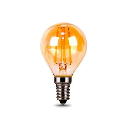 Лампа светодиодная Gauss Filament Globe E14 5 Вт 400 Лм свет теплый белый