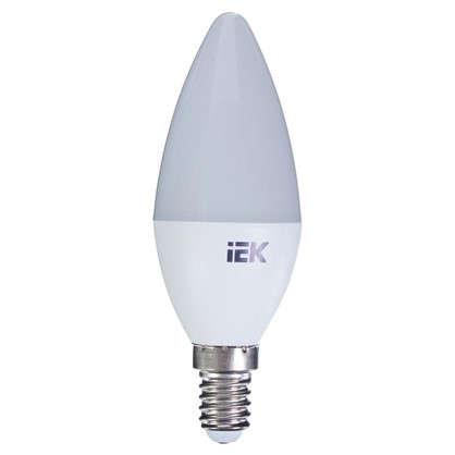 Светодиодная лампа IEK C35 Свеча E14 7 Вт 3000К свет теплый белый