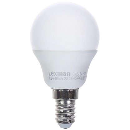 Светодиодная лампа Lexman E14 5 Вт 470 Лм 4000 K свет нейтральный