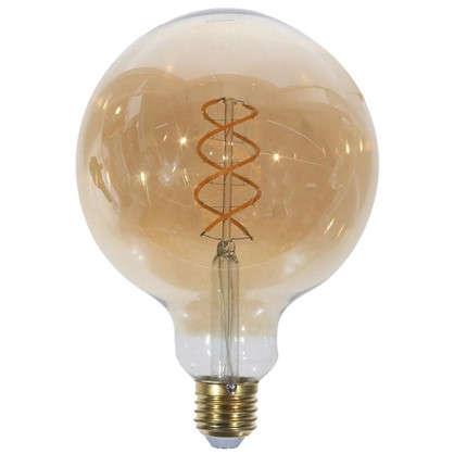 Светодиодная лампа Lexman E27 45 Вт свет янтарный