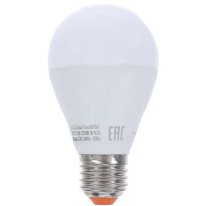 Светодиодная лампа Lexman iDual One E27 9.5 Вт 806 Лм RGBW