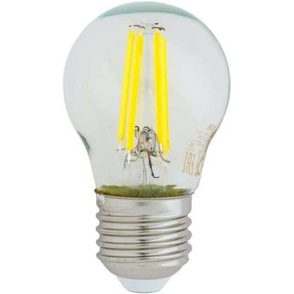 Светодиодная лампа Osram E27 220 В 5 Вт шар 3 м² свет теплый белый