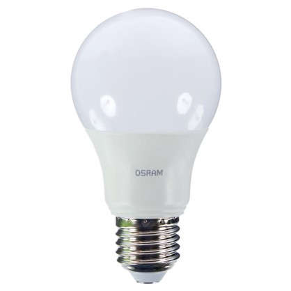 Светодиодная лампа Osram шар E27 9.5 Вт 806 Лм свет теплый белый