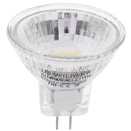 Светодиодная лампа Uniel GU4 3 Вт 200 Лм свет теплый белый
