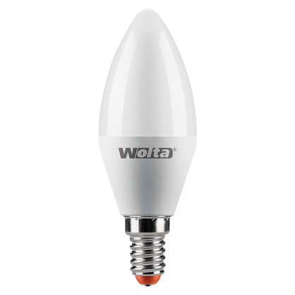 Светодиодная лампа Wolta свеча E14 8 Вт 800 Лм свет дневной