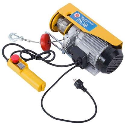 Лебедка электрическая Калибр ЭТФ-500 грузоподъемность до 500 кг