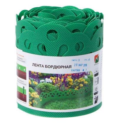 Лента бордюрная декоративная Naterial высота 15 см цвет зеленый