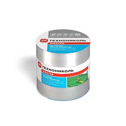 Лента-герметик Никобенд 10х015 м цвет серебро