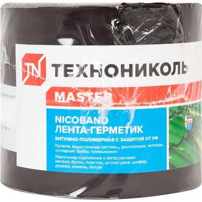 Лента-герметик Никобенд 3х01 м цвет коричневый