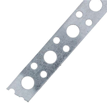 Лента перфорированная 0.5х12 мм 25 м сталь ЛСП