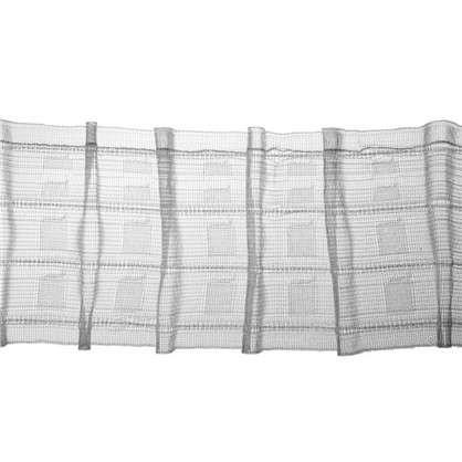Шторная лента Bocelli с карандашными складками 76 мм цвет прозрачный