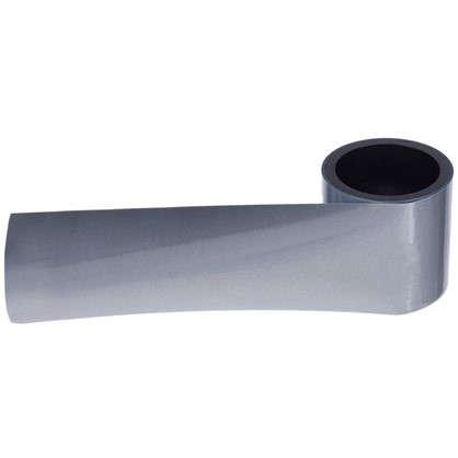 Лента светоотражающая термопереводная 100х5см цвет серый