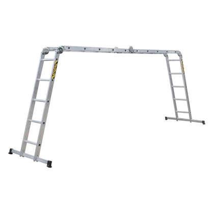 Лестница-трансформер 4 секции по 5 ступеней