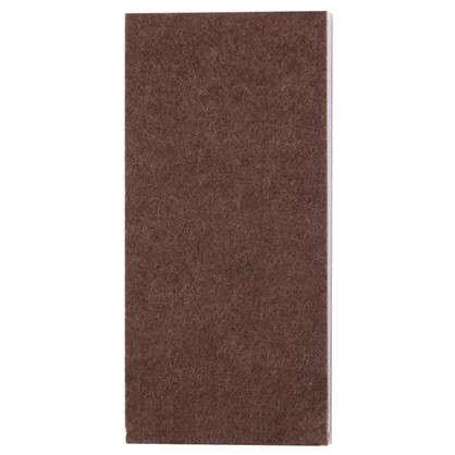 Лист фетра Standers 1000x85 мм прямоугольные войлок цвет коричневый