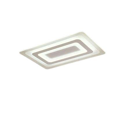 Люстра светодиодная Platan 10208/SG 130 Вт 8450 Лм с пультом ДУ
