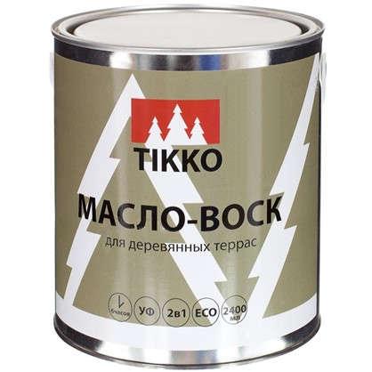 Масло для наружных работ Tikko цвет палисандр 2.4 л
