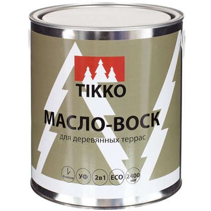 Масло для наружных работ Tikko глянец 2.4 л