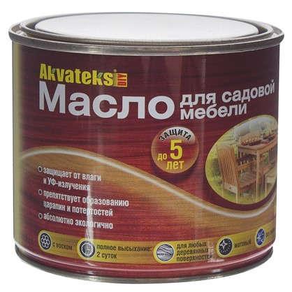 Масло для садовой мебели бесцветный 0.5 л