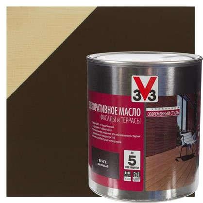 Масло для террас V33 цвет венге 2.5 л