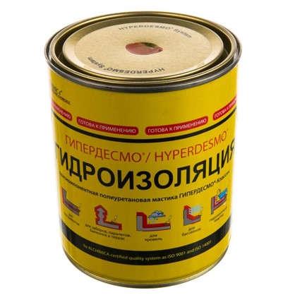 Мастика полиуретановая Alchimica Гипердесмо Классик 1 кг цвет красный