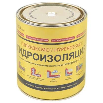 Мастика полиуретановая Alchimica Гипердесмо Классик 1 кг цвет серый