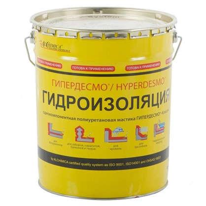 Мастика полиуретановая Alchimica Гипердесмо Классик 25 кг цвет красный