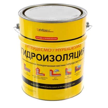 Мастика полиуретановая Alchimica Гипердесмо Классик 6 кг цвет белый