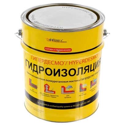 Мастика полиуретановая Alchimica Гипердесмо Классик 6 кг цвет серый