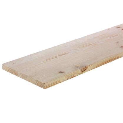 Мебельный щит 1600х200х18 мм хвоя сорт В