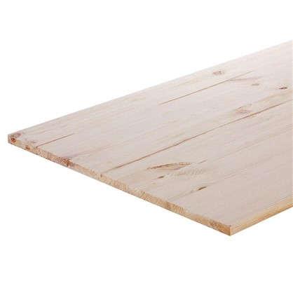 Мебельный щит 2000х600х28 мм хвоя сорт A/B