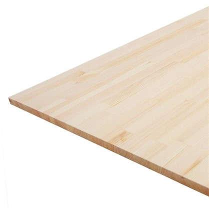 Мебельный щит 800x600х18 мм хвоя сорт экстра